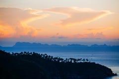 Koh Phangan wyspa Zdjęcie Stock
