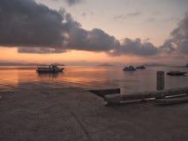 Koh Phayam Island,Ranong,Thailand. At twilight on port stock image