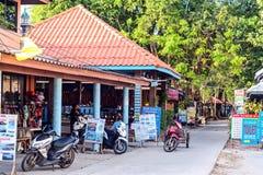 Koh Phayam-Touristenshops Lizenzfreie Stockfotos