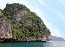 Koh Phi Phi Island, el mar de Andaman, Tailandia Un destino turístico famoso imagen de archivo