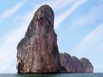 Koh Phi Phi Island, het Andaman-Overzees, Thailand Een beroemde toeristenbestemming royalty-vrije stock afbeeldingen