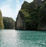 Koh Phi Phi Island, laguna de Pileh, el mar de Andaman, Tailandia Un destino turístico famoso fotografía de archivo