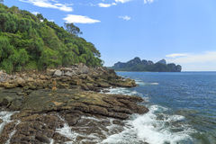 Koh Phi Phi Don wyspa Zdjęcie Stock