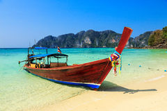 Koh Phi Phi Island, Tailândia imagem de stock