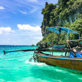 Koh phi phi island Stock Photos