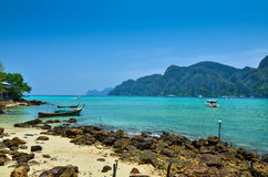 Koh Phi-Phi Island, Thailand Stock Photos