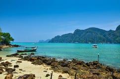 Koh Phi-Phi Island, Thailand Stock Photos