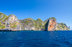 Koh Phi Phi National Park in Thailand Royalty Free Stock Photos