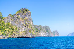 Koh Phi Phi National Park in Thailand Stock Image