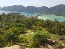 Koh Phi Phi Viewpoint Fotografering för Bildbyråer