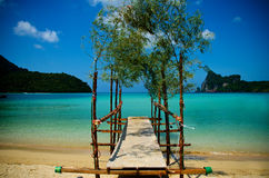 Koh phiphi beach Royalty Free Stock Images