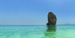 Koh Poda. Panorama seascape island in andaman, Krabi province, Thailand Stock Photos