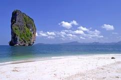 Koh Poda, Poda wyspa w Andaman morzu blisko Krabi, Tajlandia Zdjęcie Royalty Free