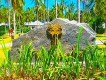 Koh Racha Yai, Таиланд - 11-ое февраля 2010: Красивая тропическая гостиница Racha 5 звезд Стоковое Изображение