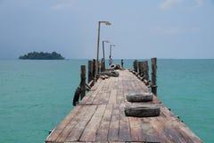 Koh Rong Island – Cambodia's Slice Of Paradise. Pier at Koh Rong, Cambodia Royalty Free Stock Images