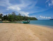 Koh Rong island in Cambodia Royalty Free Stock Photos