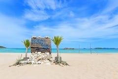 Koh Samaesarn - Luk Lom Beach Stock Photography