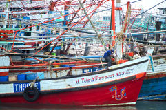 Koh Samed Pier Foto de archivo