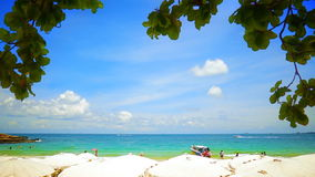 Koh Samet beach stock video