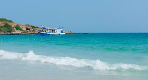 Koh samet beach in thailand. It is a holiday destination royalty free stock photos