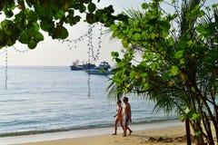 Koh Samet plaże, Tajlandia Fotografia Stock