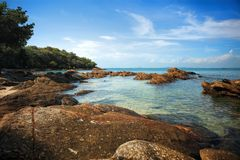 Koh Samet , Samet Island. Shoot From Sae Side Stock Photos