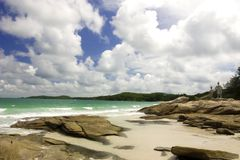 Koh Samet, Thailand. The beach of the Thai island of Koh Samet Royalty Free Stock Photos