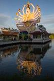 Koh Samui świątynia na wodzie - Tajlandia Obrazy Royalty Free
