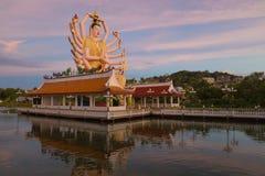 Koh Samui świątynia na wodzie - Tajlandia Zdjęcie Stock
