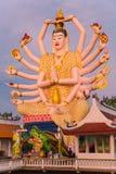 Koh Samui świątynia na wodzie - Tajlandia Obrazy Stock