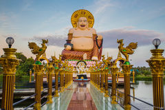 Koh Samui świątynia na wodzie - Tajlandia Zdjęcia Stock