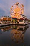 Koh Samui świątynia na wodzie - Tajlandia zdjęcia royalty free