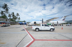 Koh Samui Airport Imagem de Stock Royalty Free