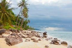 Koh Samui Beach Fotografie Stock Libere da Diritti