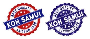 Koh Samui Best Quality Stamp con effetto graffiato Fotografia Stock Libera da Diritti