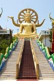 Koh Samui, Big Buddha. Stairway up to Big Buddha Stock Photo