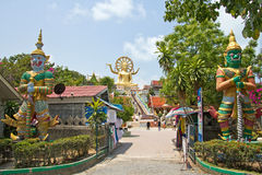 Koh Samui, Buda grande Fotos de Stock