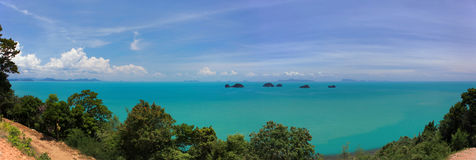 Koh Samui And Five Islands Royalty Free Stock Photo