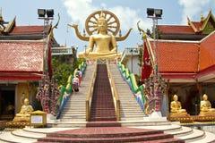 Koh Samui, grande Buddha Immagini Stock Libere da Diritti