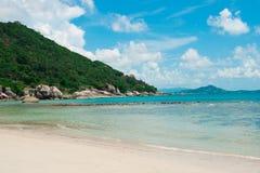 Koh Samui-Inselstrand und -ozean Lizenzfreie Stockfotografie