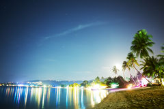 Koh Samui At Night imagens de stock royalty free