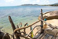 Koh Samui, Rock Bar Beach Royalty Free Stock Photos