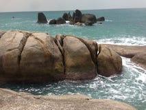 Koh Samui Rock Formations fotografering för bildbyråer