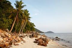 Koh Samui Rocky Beach Stock Image
