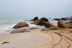 The Koh Samui and scenic rock Royalty Free Stock Photo