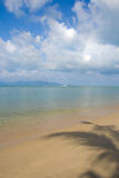 Koh Samui sea landscape with launch Stock Images