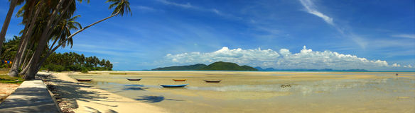 Koh Samui South Coast. A view from the south coast of Koh Samui in the Gulf of Thailand stock photo