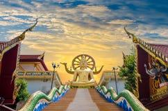 Koh Samui Surat Thani Таиланд Wat Phra Yai Стоковое Изображение