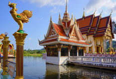 Koh Samui, Tajlandia, Buddyjska świątynia, Wat Laem Suvannaram Obraz Royalty Free