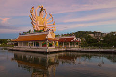 Koh Samui temple on the water - Thailand. Koh Samui  - temple on the water - Thailand Stock Photo